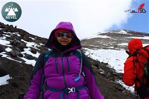 صعود بینظیر به قله دماوند