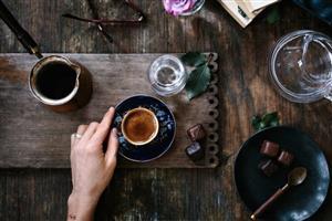 طرز تهیه قهوه ترک / آموزش گام به گام