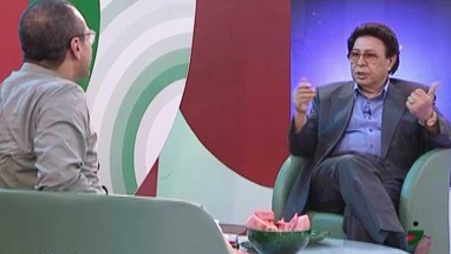 فیلم/ گفتوگوی جناب خان با زنده یاد حسین عرفانی