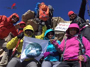 گزارش دختر کوهنورد از صعود به قله علم کوه