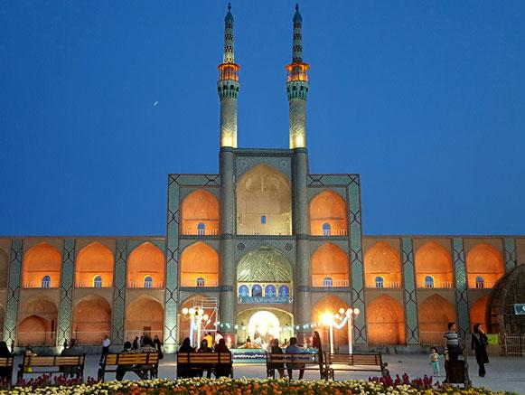 معرفی کامل مکانهای دیدنی شهر یزد