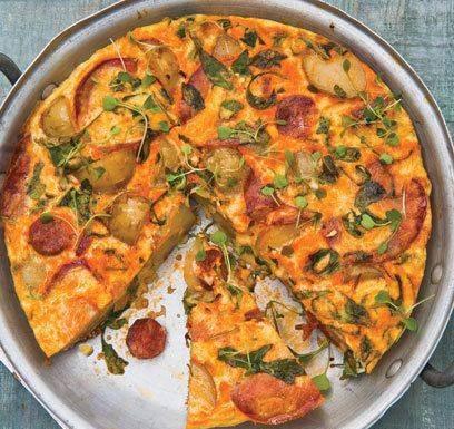آشپزی / املت اسپانیایی،  صبحانه ای سریع و آسان