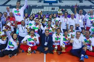 ایران مقام سوم مسابقات پاراآسیایی را به دست آورد