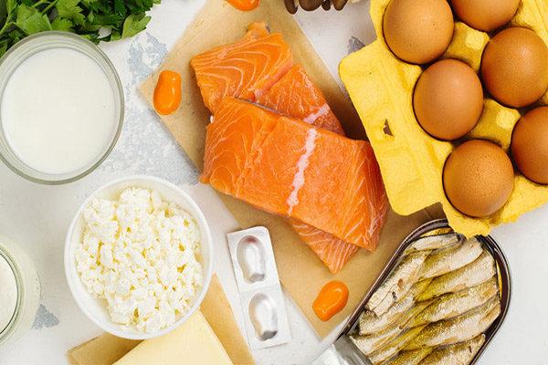 این خوراکیها منبع ویتامین دی هستند