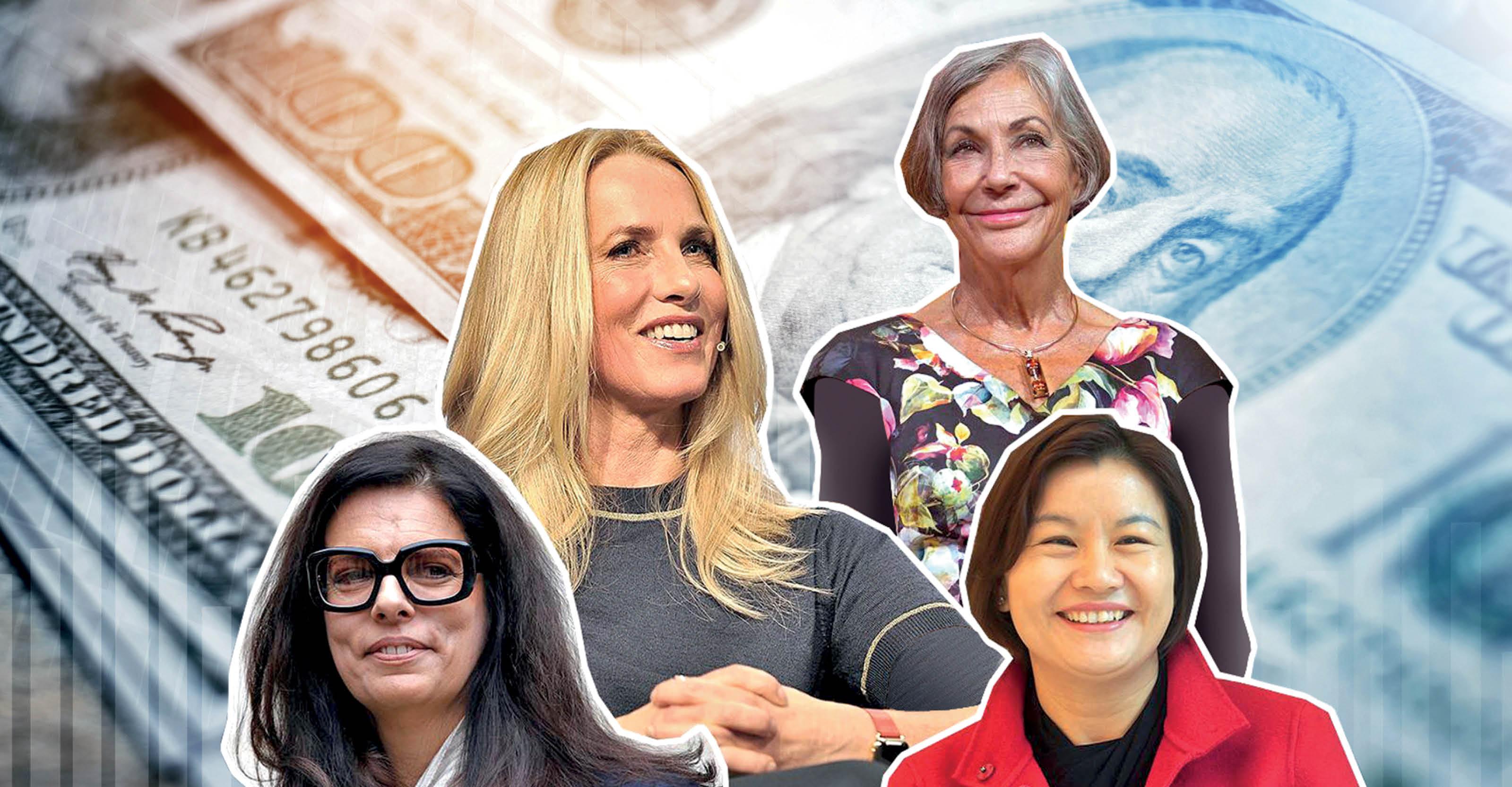 این 10 زن ثروتمندترینهای جهان در سال جاری هستند