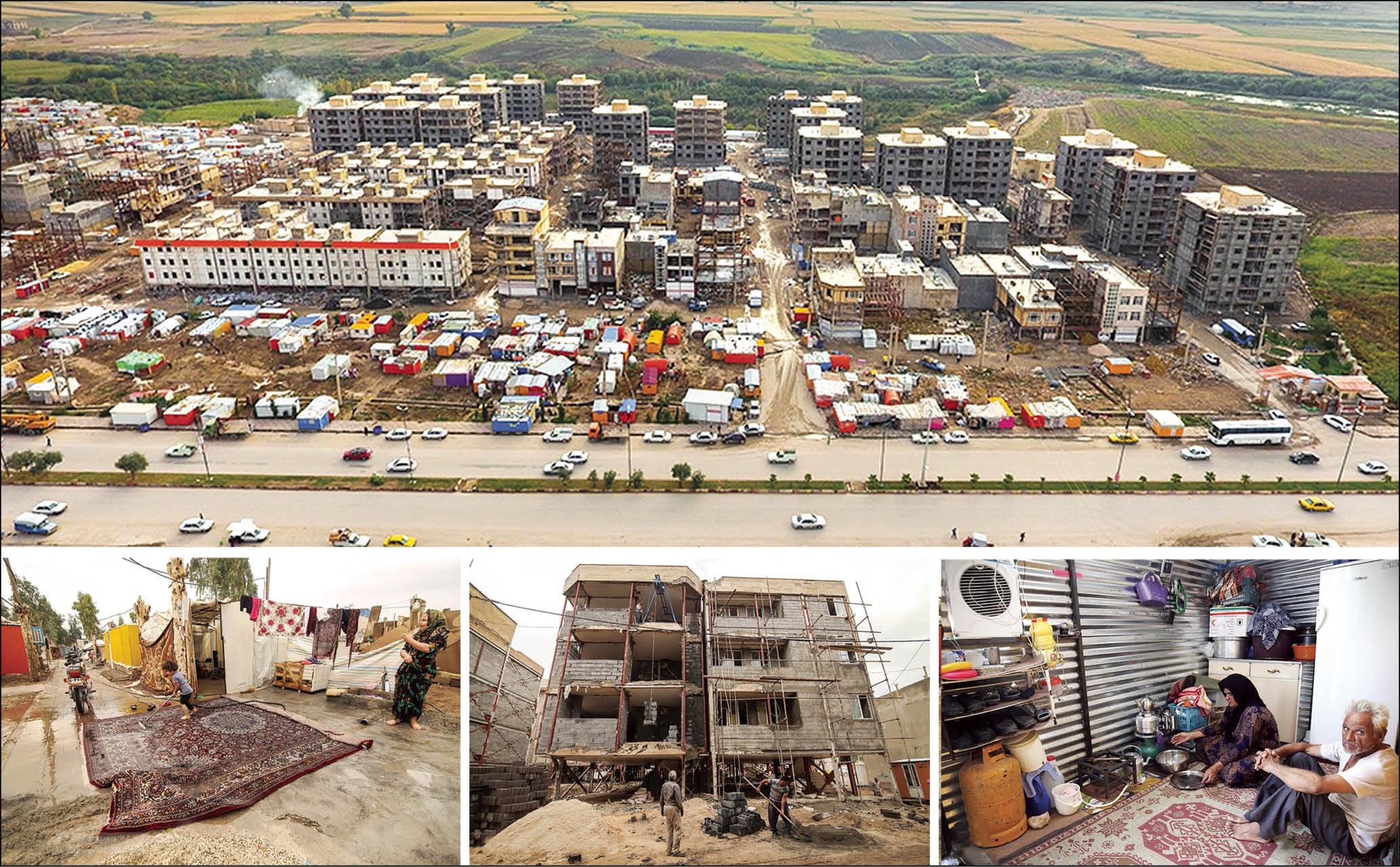 یک سال بعد از زلزله؛ زخم همچنان بر پیکر کرمانشاه