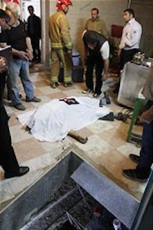 فوت یک دختر بر اثر سقوط آسانسور مسکن مهر