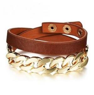 دستبندهای چرم مناسب برای تیپ کژوال