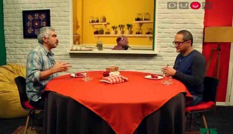 فیلم/گفتوگوی سروش صحت با جناب خان و رامبد جوان در برنامه قاچ