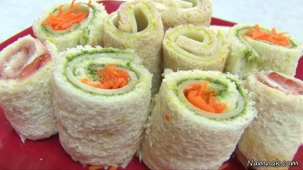 آشپزی / طرز تهیه سوشی سبزیجات بهعنوان پیش غذایی لذیذ و خاص