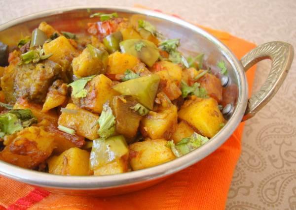 آشپزی/ طرز تهیه سیب زمینی هندی