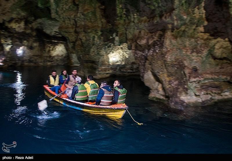 تصاویر زیبا از غار سهولان در مهاباد