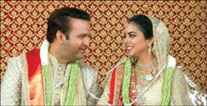 برگزاری عروسی 100 میلیون دلاری در هندوستان