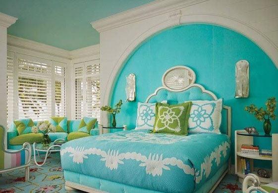 استفاده از رنگ فیروزهای در دکوراسیون خانه چه تاثیرات روانی دارد؟