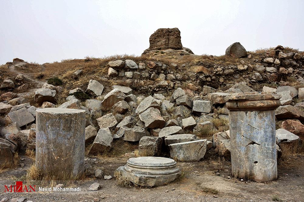 گزارش تصویری از معبد آناهیتا
