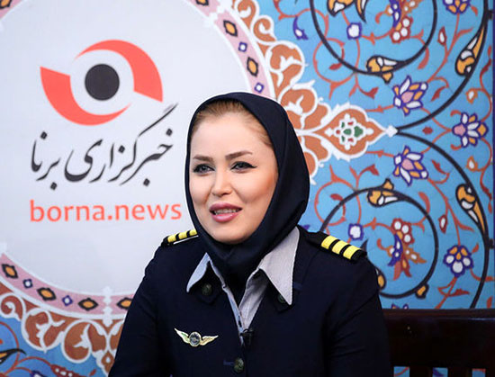 گفت وگو با جوان ترین خلبان زن ایران: عاشق ارتفاع هستم