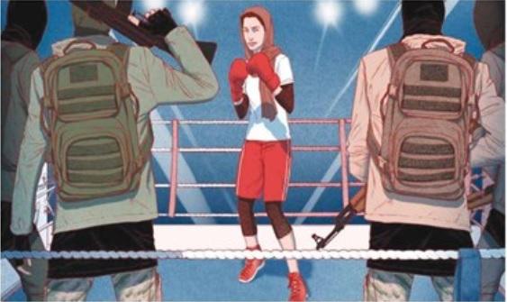 داستان خواندنی زندگی دختر ایزدی؛ از فرار از دست داعش تا تبدیلشدن به بوکسور