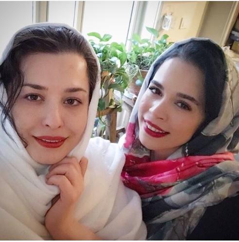 عکسی دیدنی از خواهران شریفی نیا