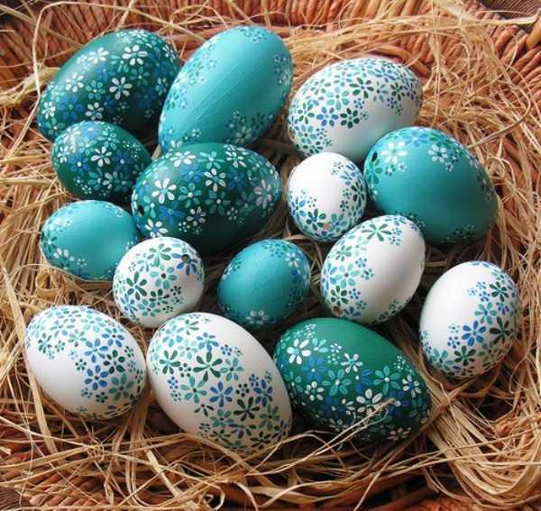 آسانترین و قشنگترین روشهای درست کردن تخم مرغ رنگی سفره هفت سین