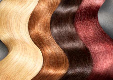 روش رنگ کردن مو در خانه