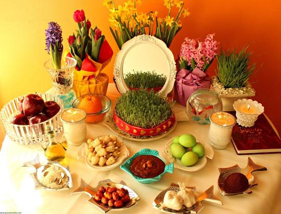 هر کدام از سین های سفره هفت سین عید نوروز نشانه و نماد چیست؟