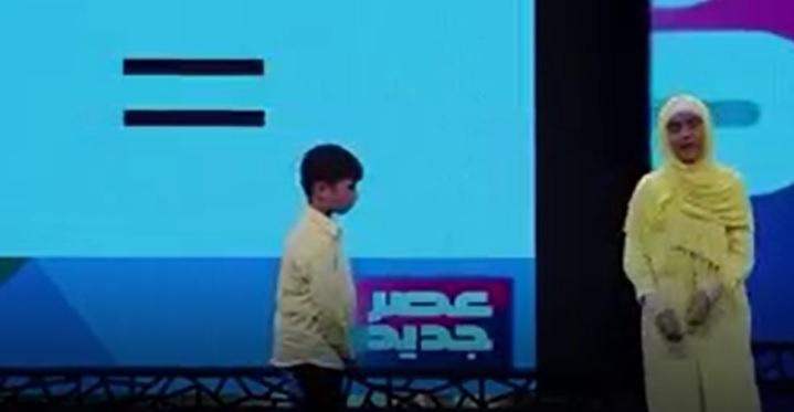 نمایش حیرت آور گروه نواندیشان ، پرهام بنی اسدی و سما برهانی دو نابغه نوجوان ریاضی در قسمت دهم برنامه عصر جدید 3 فروردین