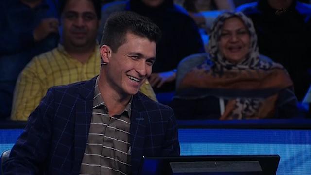 فیلمی از محمدکاظم تارتار شرکتکنندهای که برنده جایزه ۱۰۰ میلیونی برنده باش شد