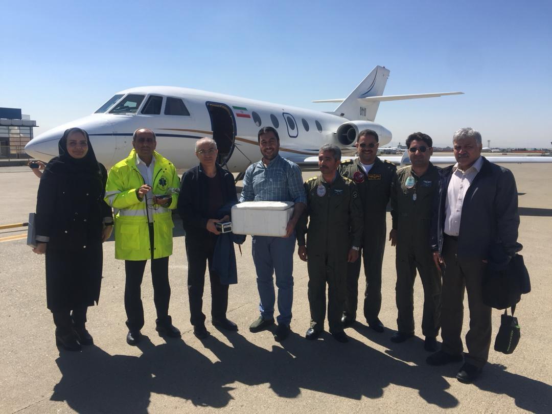 عملیات ویژه برای انتقال قلب یک مادر از رشت به تهران
