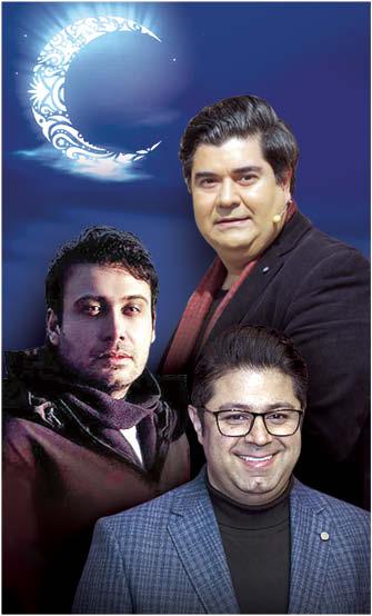 رقابت تنگاتنگ سالار عقیلی، محسن چاوشی و حجت اشرفزاده در تیتراژ 3 سریال ماه رمضان