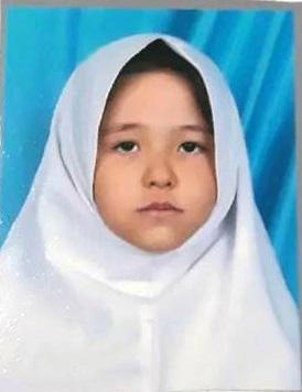 ایندختر7ساله درتهران ناپدید شده