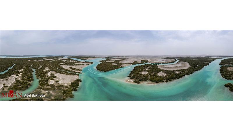 عکسهای هوایی بینظیر از چابهار