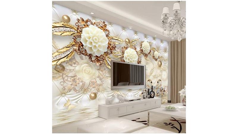 نمونههایی از زیباترین کاغذ دیواریهای سه بعدی
