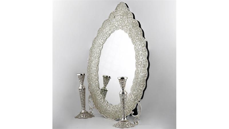 نمونههایی از جدیدترین و شیکترین آیینه و شمعدانها
