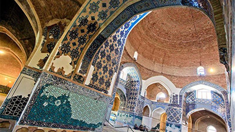 با تاریخچه کامل مسجد کبود یا مسجد جهانشاه تبریز  آشنا شوید