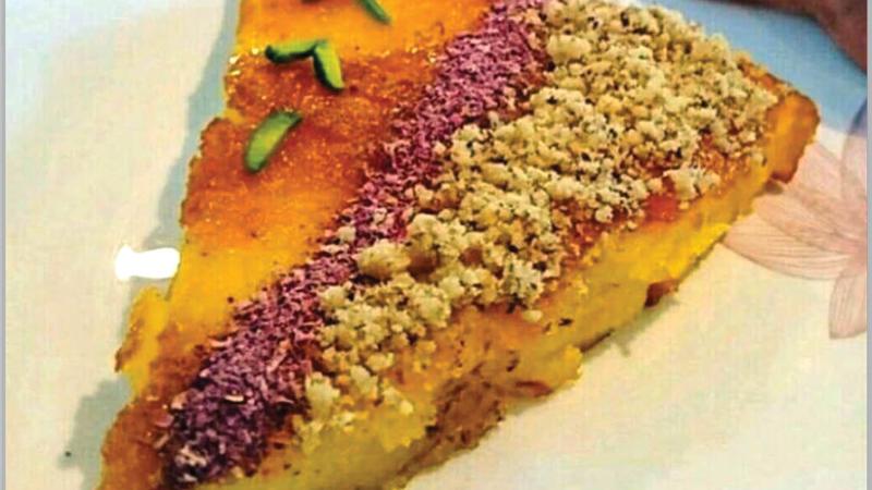 آشپزی/ دستور پخت قیقاناق ، نوعی خاگینه آذربایجانی