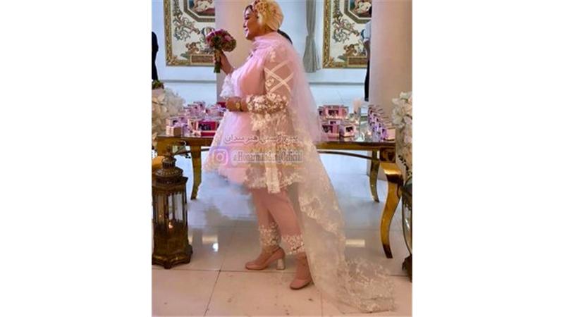 عکسهای مراسم دومین سالگرد ازدواج بهاره رهنما