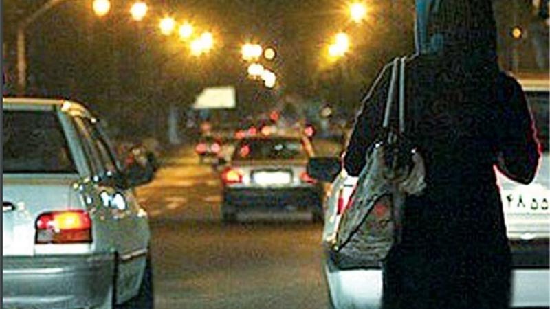 دام زنانه برای رانندگان هوسباز