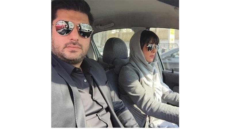 دو ستاره مشهور در کنار همسران شان ؛ مهدی سلوکی و سام درخشانی