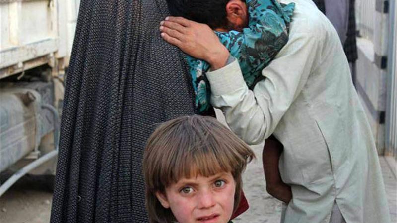 مرد افغان زبان همسرش را قیچی کرد