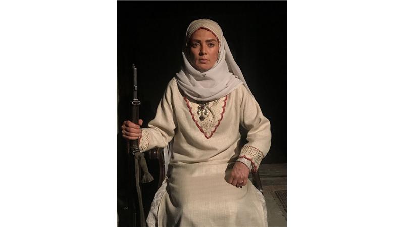 پانتهآ سیروس ،بازیگر سریال بانوی سردار : بی بی مریم قهرمان ملی است