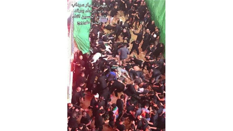 ۳۱ کشته و ۱۰۰ زخمی در حادثه مراسم عاشورای حسینی(ع) در کربلا