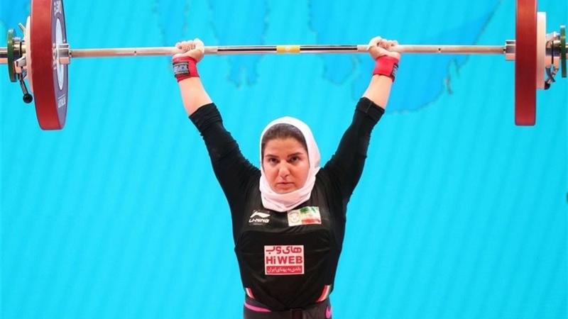 پوپک بسامی ،اولین دختر وزنه بردار ایران کیست