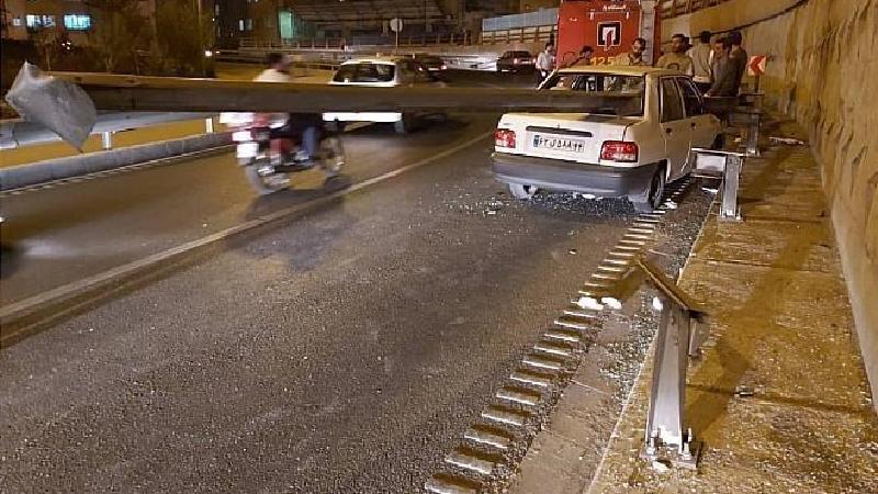 باورنکردنی؛راننده دراین تصادف زنده ماند