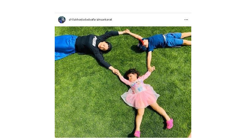 عکس/ شیلا خداداد سرشار از مهر مادری