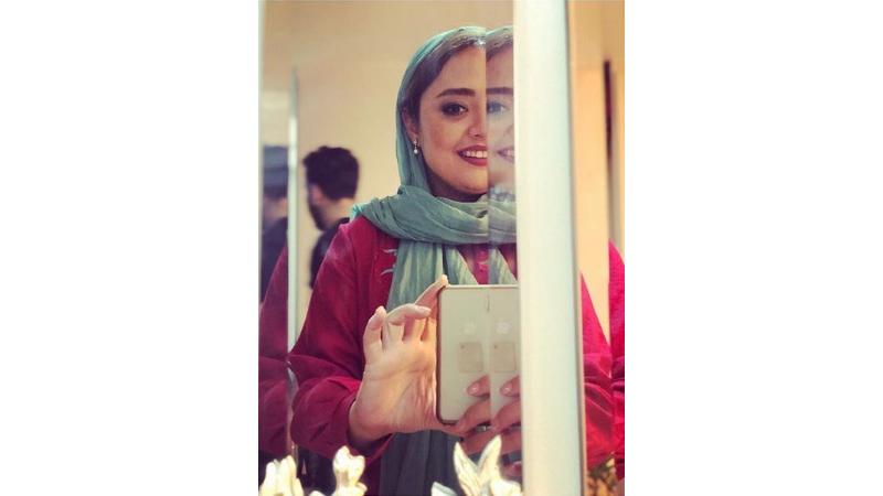 ژستهای خاص نرگس محمدی بازیگر ستایش