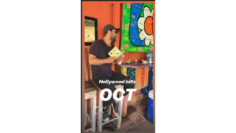عکسی از حامد بهداد در هالیوود