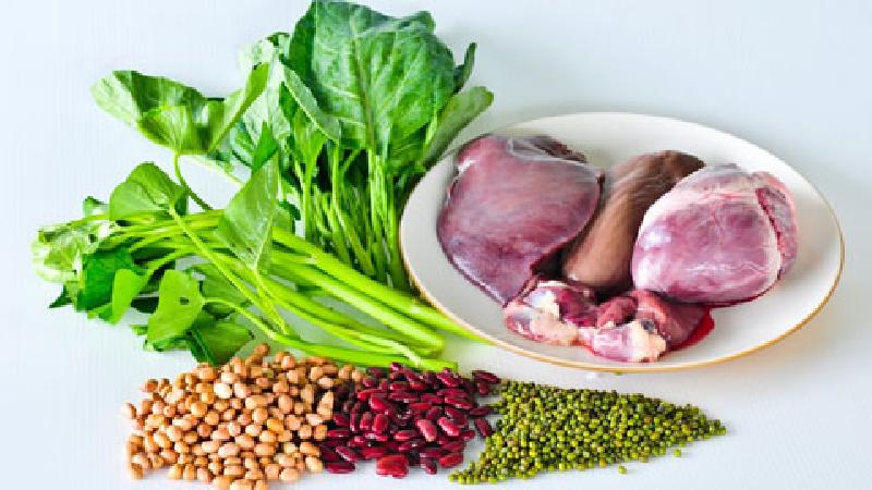 خوراکیهایی که آهن بدن را تامین میکنند