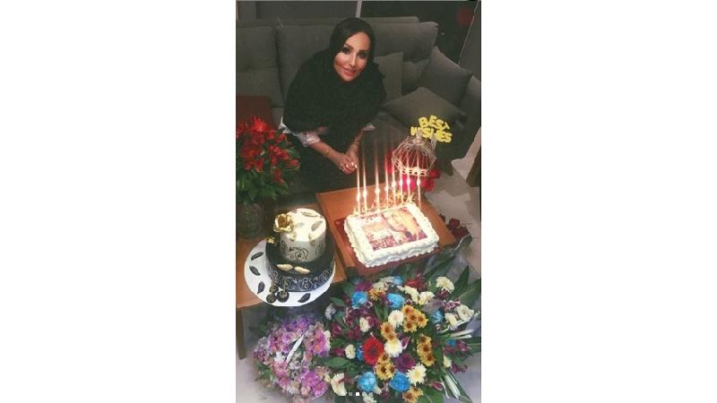 عکسهایی از جشن تولد پرستو صالحی