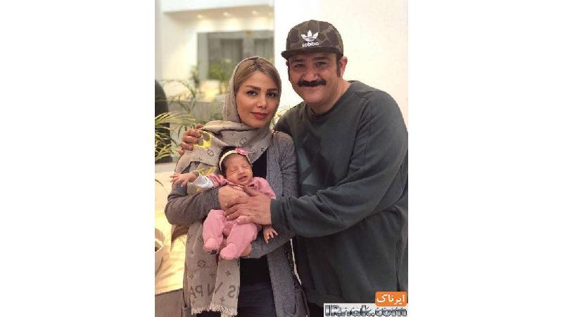 گالری عکسهای مهران غفوریان و دخترش هانا