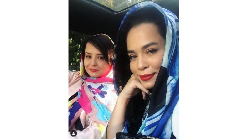 پیام عاشقانه مهراوه شریفی نیا به مناسبت تولد خواهرش ملیکا